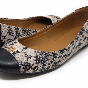 COACH CHELSEA Slip-On Ballet Flat Shoes A01033 7B